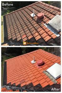 Terracotta roof cleaning brisbane