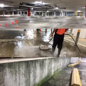 car park cleaning Brisbane