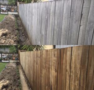 Fence cleaning brisbane